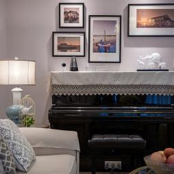 美式风格照片墙设计图片