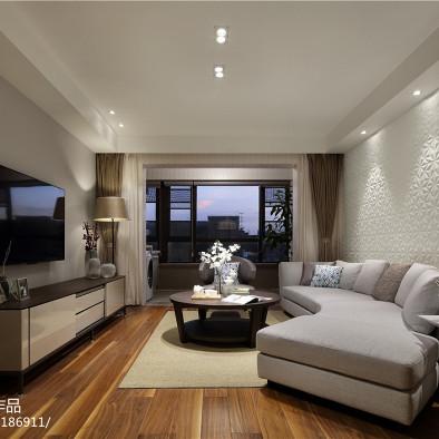 简雅现代风格客厅装修