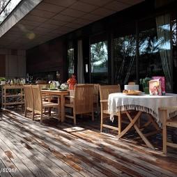 家装混搭风格别墅阳台设计