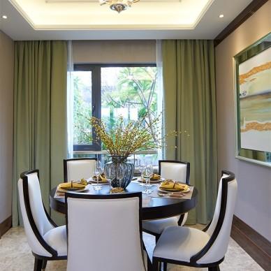 家居美式风格餐厅装修案例