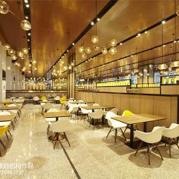 万家厨房中餐厅座位设计