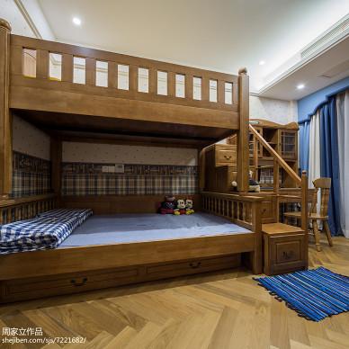 现代风格儿童房设计图片