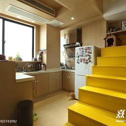 混搭风格小户型厨房装修