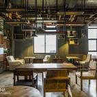 R&C咖啡店座位装修
