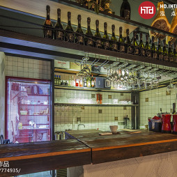 FAVOTITA酒吧酒架设计