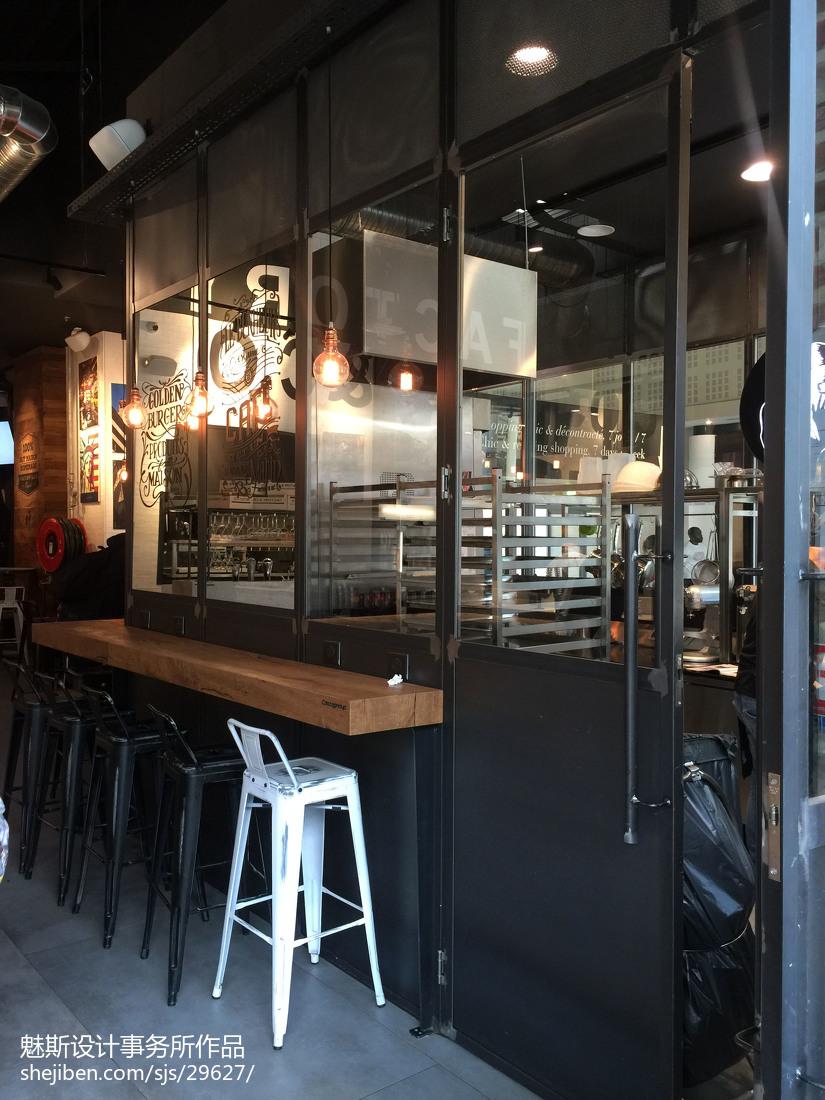 娱乐资讯_咖啡厅吧台区设计 – 设计本装修效果图