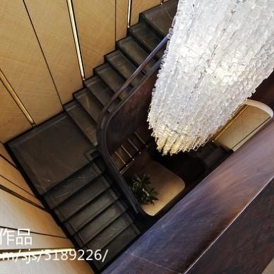 家装现代风格别墅楼梯设计