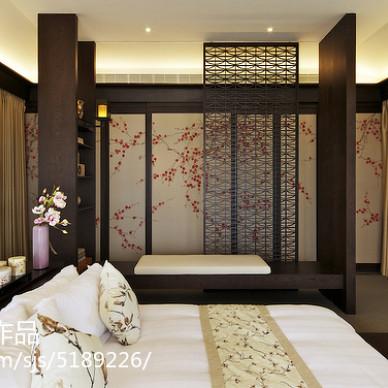 古典现代风格卧室布置