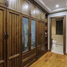 家装美式风格衣柜效果图