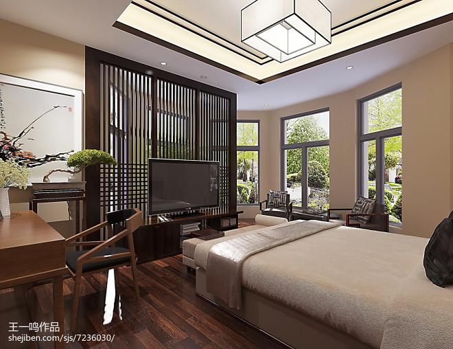 中式卧室_2433965