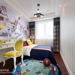 现代格调儿童房装修