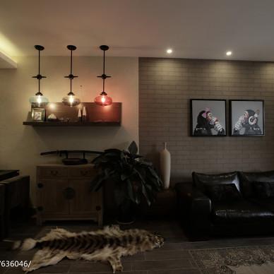 混搭风格客厅装修案例
