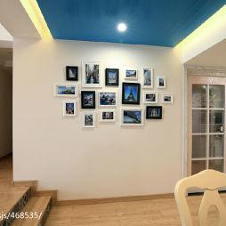家装田园风格格调照片墙装修