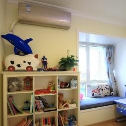 田园风格趣味儿童房书架设计