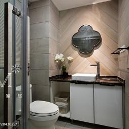 时尚北欧风格小户型卫浴设计