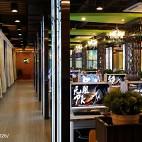 网咖店过道设计案例