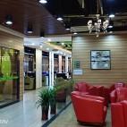 网咖店休息区装修