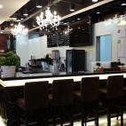 网咖店吧台设计效果图