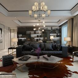 家装现代风格客厅装修案例