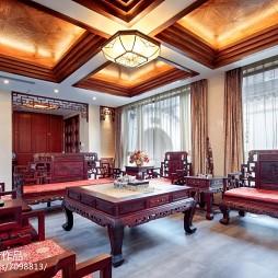中式风范客厅设计