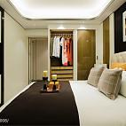 混搭格调豪宅卧室布置