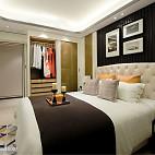 家居混搭风格豪宅卧室装饰图