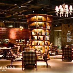 文化餐饮店室内设计