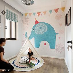 家居北欧风格儿童房布置