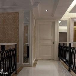 欧式别墅楼梯装修效果图