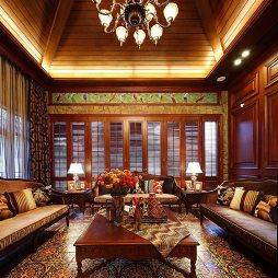 美式风情别墅客厅装修