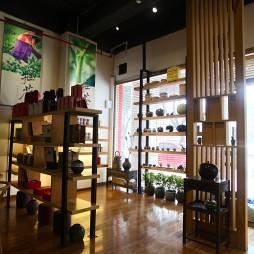 新中式茶艺馆展示架装修