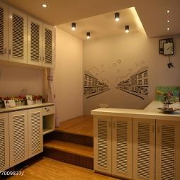 家装现代风格吧台效果图