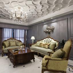 大方美式风格客厅设计
