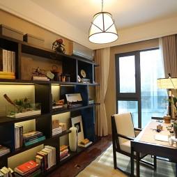 家居中式风格书房装修