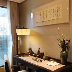 儒雅中式风格书房设计