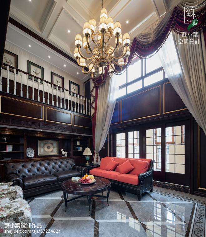 奢华美式风格客厅装修