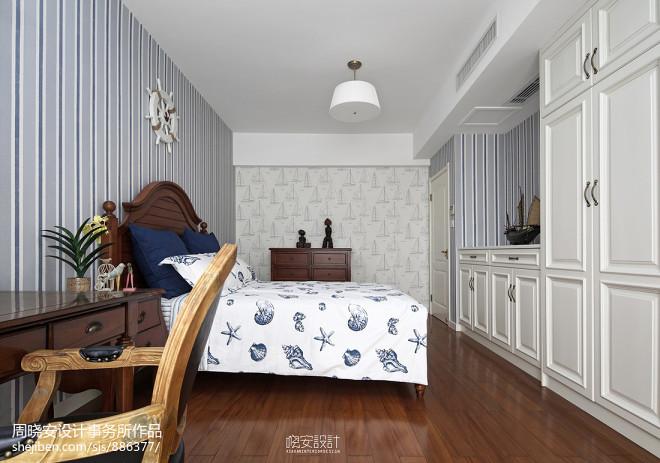 舒适美式风格儿童房设计
