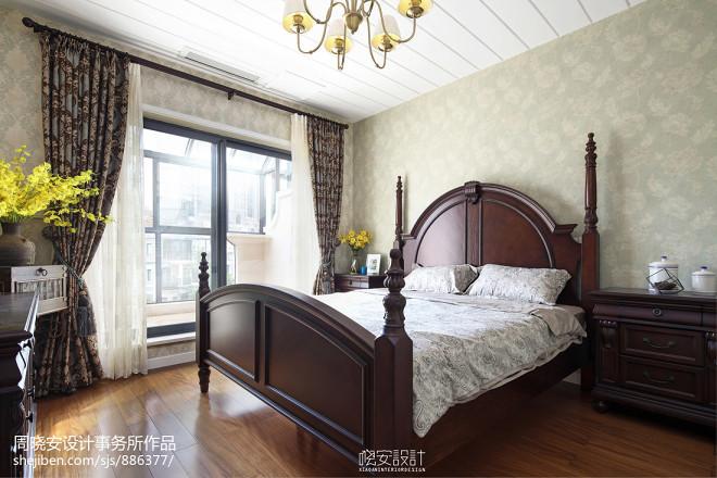 美式格调别墅卧室装修