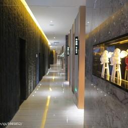 工装餐厅过道设计效果图