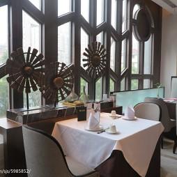 创意餐厅就餐区装修