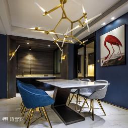 家装现代风格四居室餐厅装修
