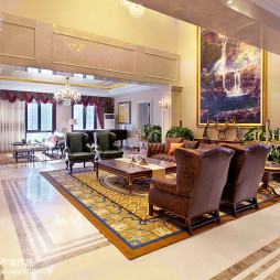 豪华欧式风格客厅装修