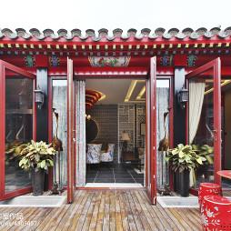 精致中式风格阳台设计