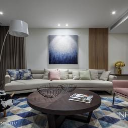 现代风格家居客厅设计装修