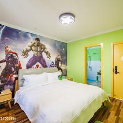 主题酒店创意卧室布置