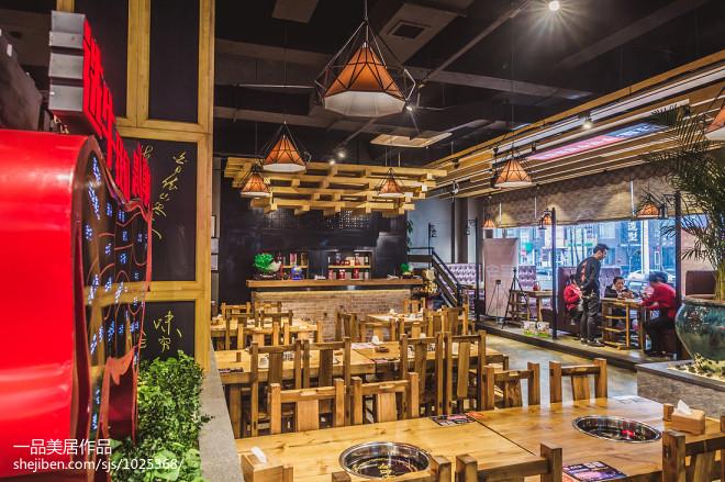 火锅餐厅就餐区装修