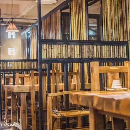 火锅餐厅座位装修