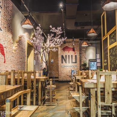 火锅餐厅室内设计效果图