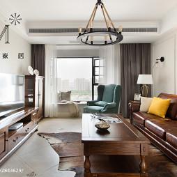家装美式客厅设计案例