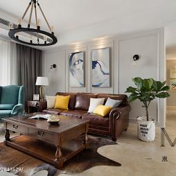 美式二居室客厅设计